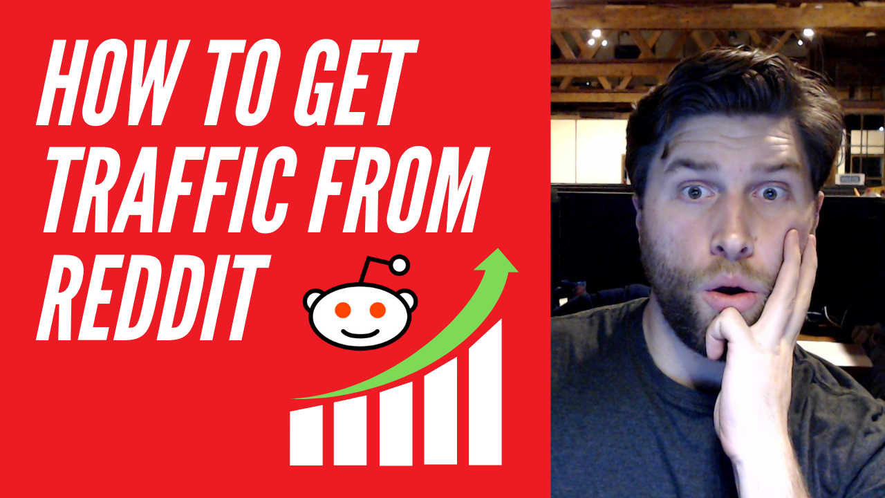 how to get traffic from reddit